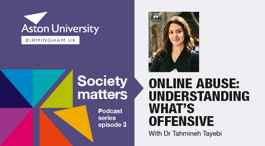 Society matters episode 3 understanding online abuse