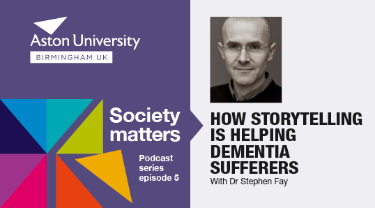Society matters podcast - Stephen Fay