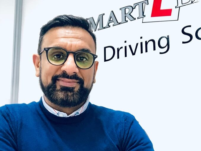 Tommy Sandhu, founder and director of Smart Learning