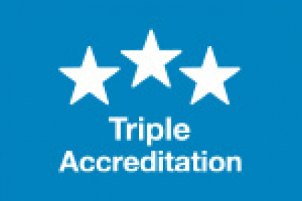 triple accreditation icon