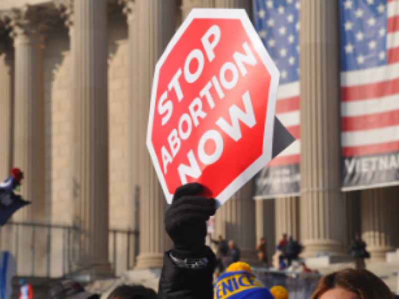 Aston informs anti-abortion activism policy debate