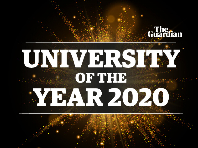 Aston named University of the Year 2020