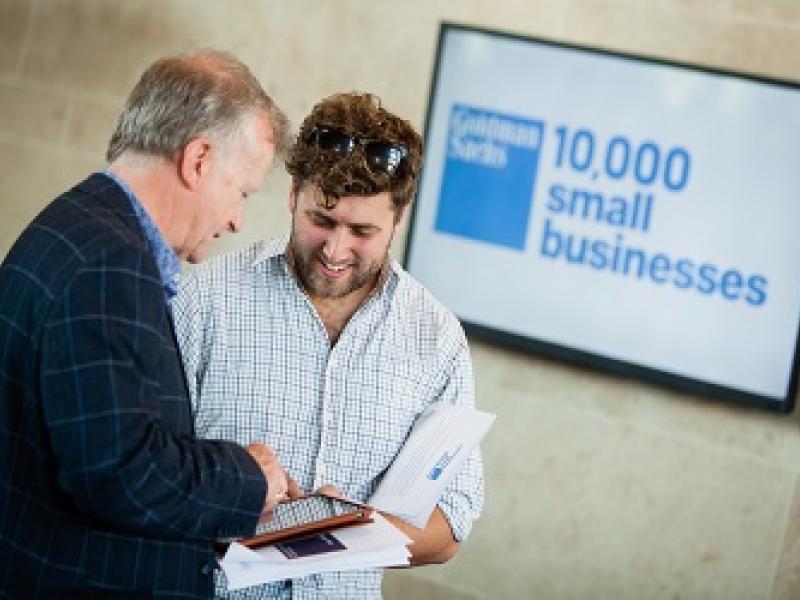 Goldman Sachs 10,000 Small Business UK