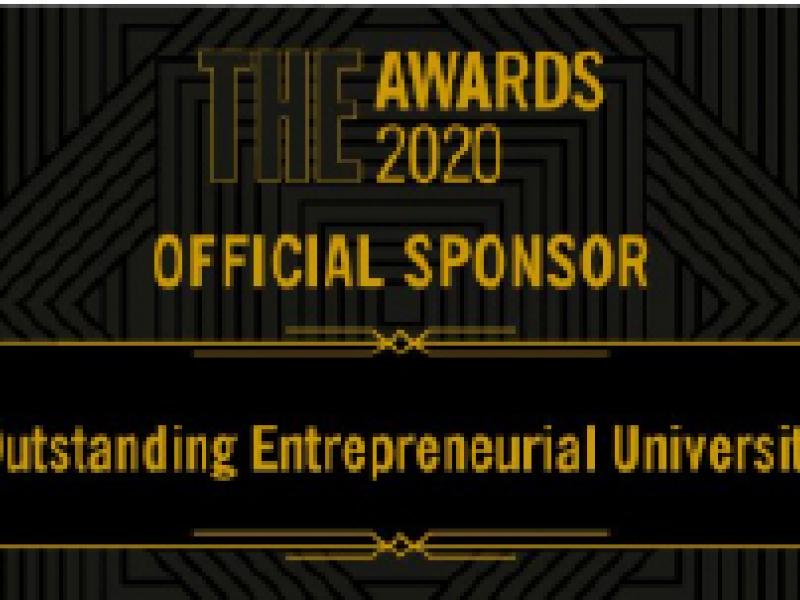 Aston Wins Outstanding Entrepreneurial University