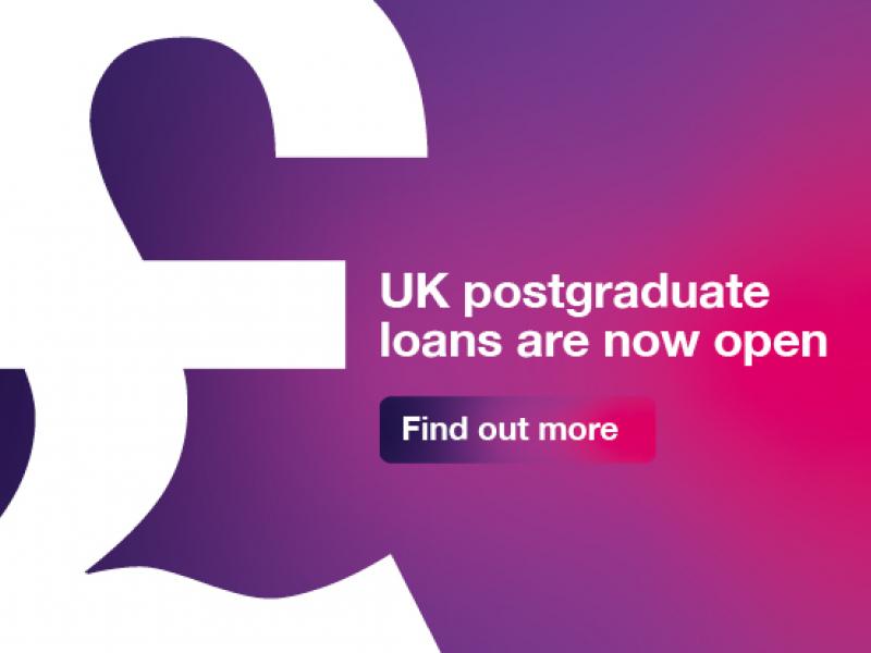 UK postgraduate loans are now open